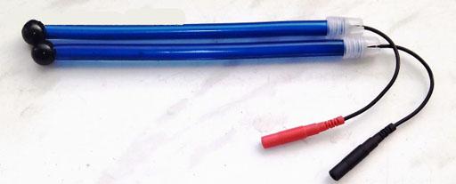 Шунгит - с шариками 10-11мм и с гнущимися ручками